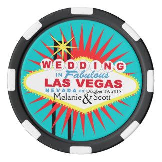 Las Vegas Wedding Casino Chip