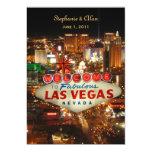 Las Vegas Wedding Invitation 13 Cm X 18 Cm Invitation Card