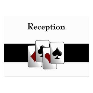 Las Vegas wedding Reception  Cards Business Card
