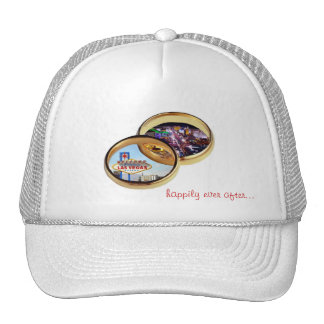 Las Vegas Wedding Rings happily ever after Cap Mesh Hat