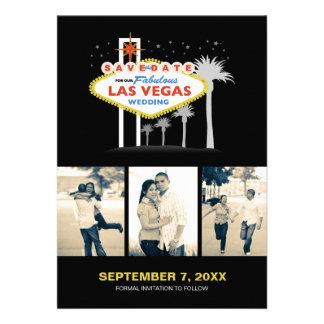 Las Vegas Wedding Save-the-date Custom Invitation
