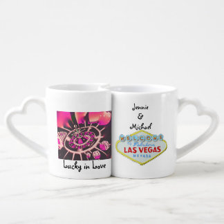 Las Vegas Wedding Souvenir Coffee Mug Set