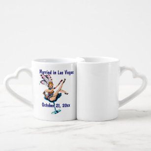 Souvenir Set Wedding Mug Coffee Las Vegas NOm8n0wyv