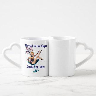Las Vegas Wedding Souvenir Coffee Mug Set