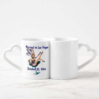 Las Vegas Wedding Souvenir Lovers Mug
