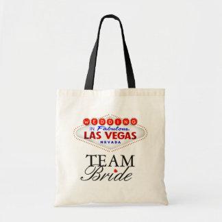 Las Vegas Wedding Team Bride Tote Bag