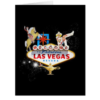 Las Vegas Welcome Sign Big Greeting Card