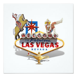 Las Vegas Welcome Sign Card
