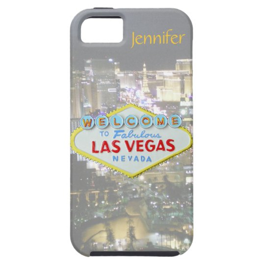 Las Vegas Welcome Sign Electronics Case