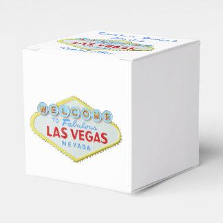 Las Vegas Welcome Sign Favour Box