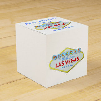 Las Vegas Welcome Sign Party Favour Boxes