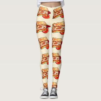 lasagna ladies leggings