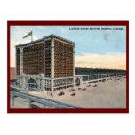 LaSalle Street Railway Station, Chicago Vintage Postcards