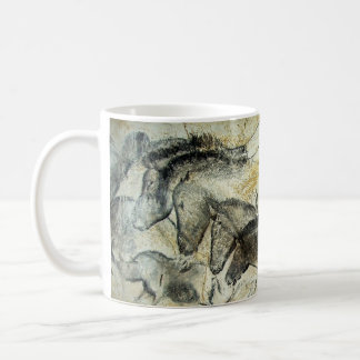 Lascaux Cave Painting of Horses Coffee Mug