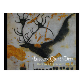 Lascaux Giant Deer Postcard