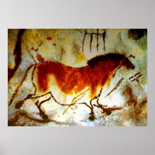 Lascaux Horse (Extra Large) Poster