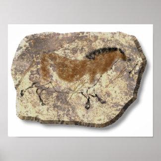 Lascaux Horse stone Print