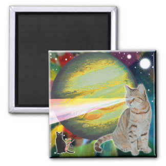Laser-Cat Mossbody Magnet