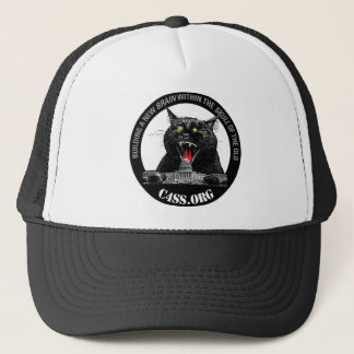 Laser Cat of C4SS Domination Trucker Hat