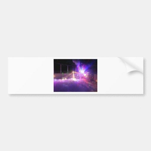 Laser Foam Party Bumper Stickers