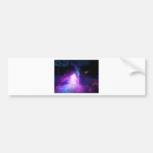 laser fun express bumper stickers