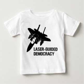 Laser-Guided Democracy / Peace through Firepower T-shirt