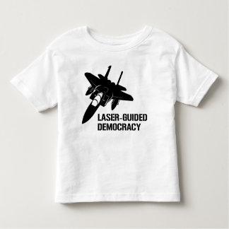Laser-Guided Democracy / Peace through Firepower Tee Shirt