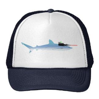Laser Gun Fish Cap