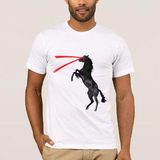 Laser Horse Red Avenger T-Shirt