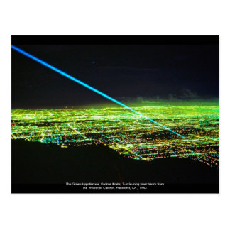 Laser Sculpture by Rockne Krebs Postcard