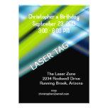 Laser Tag Birthday Invitations