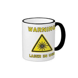 Laser Warning Symbol Mug