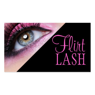 Lash Extensions Lashes Beauty Cosmetology Salon Pack Of Standard Business Cards