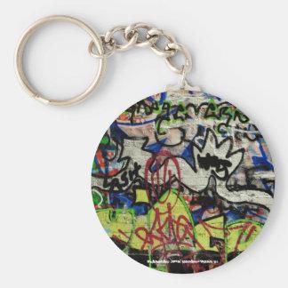 LASH- keyring graffiti design Key Chains