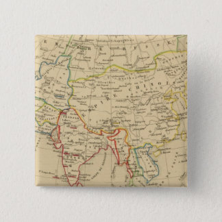L'Asie, 1227 a 1840 15 Cm Square Badge