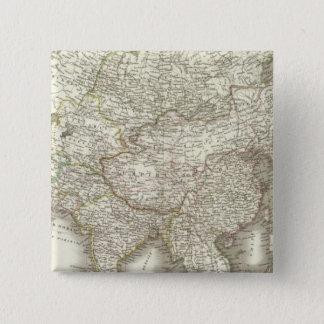 L'Asie - Asia 15 Cm Square Badge