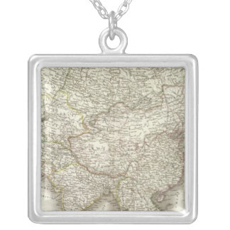 L'Asie - Asia Silver Plated Necklace