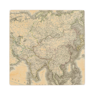 L'Asie - Asia Wood Coaster