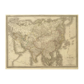 L'Asie - Asia Wood Wall Decor