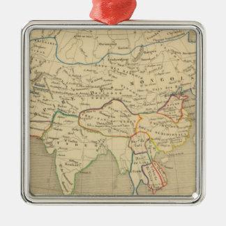 L'Asie, l'an 1220 ap JC Christmas Ornament