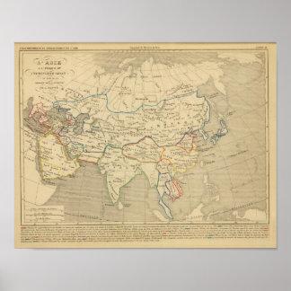 L'Asie, l'an 1220 ap JC Poster