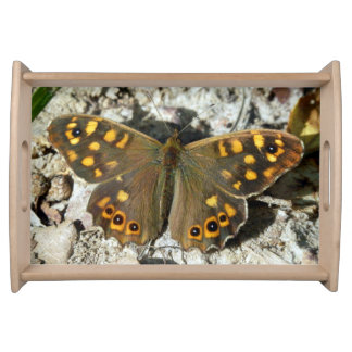 Lasiommata Westwood Butterfly Serving Tray