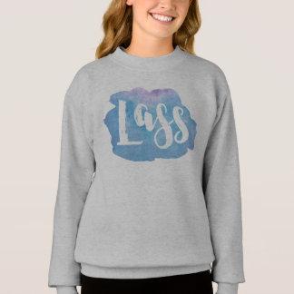 Lass, Scottish, Newcastle Dialect Sweatshirt