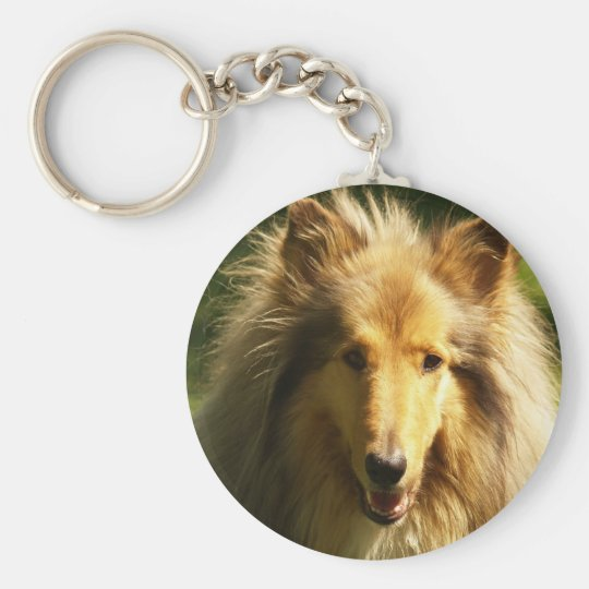 Lassie Collie Keychain