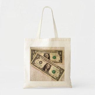 Last 2 Dollars Tote Bag