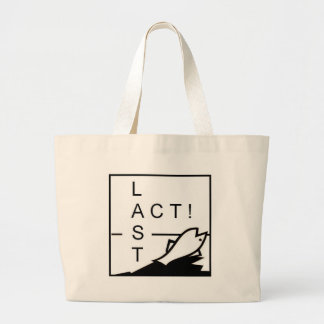 LAST ACT! JUMBO TOTE BAG