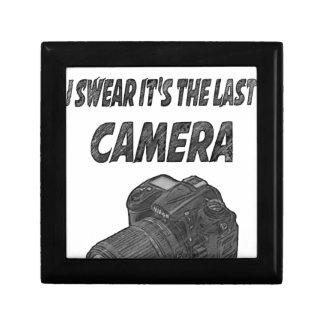 Last camera gift box