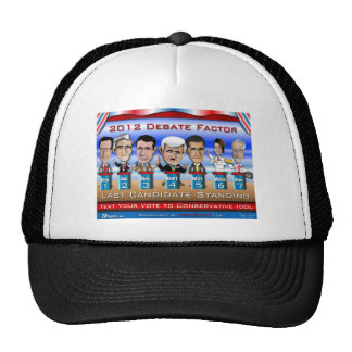 Last Candidate Standing Mesh Hat