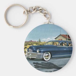 Last Chance Gas, Vintage Transportation Car Keychains