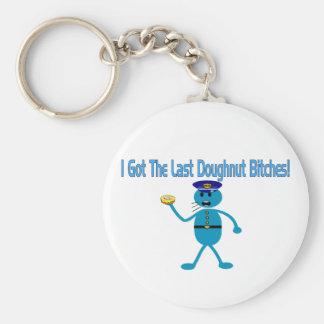 Last Doughnut Keychain